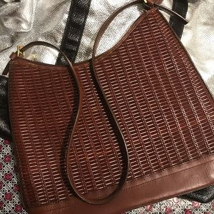 Aigner pocketbook-vintage brown